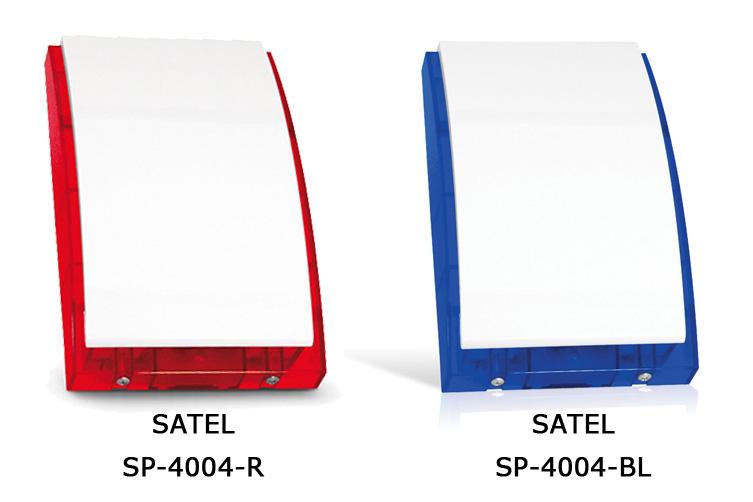Sirene SATEL SP-4004 rouge et bleu