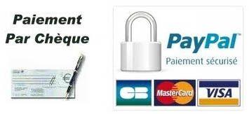 paiement cheque et carte bancaire