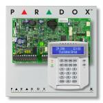 Pack alarme centrale PARADOX EVO192 avec clavier LCD Paradox K641+