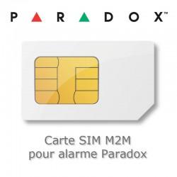 Carte SIM M2M pour transmetteur alarme Paradox