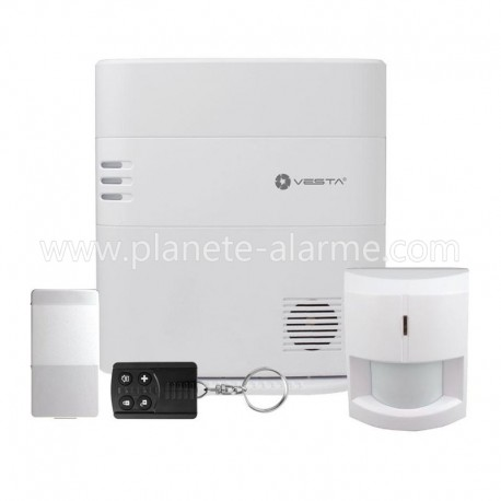 Pack Alarme sans fil VESTA Climax 01