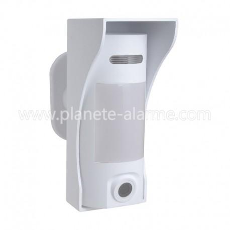 Détecteur de mouvement exterieur sans fil avec caméra pour alarme Vesta Climax   VESTA VST-862EX