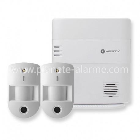 Alarme sans fil VESTA Climax - Pack 3
