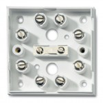 Boîte de raccordement 10 bornes à vis pour alarme filaire