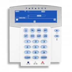 Paradox K37 - Clavier sans-fil LCD pour alarme Paradox