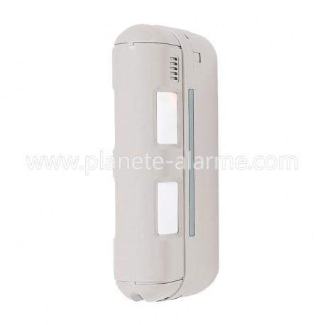 Optex BX80NR - Détecteur de mouvement sans fil exterieur pour facade