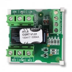 Altec Atls CI2RT - Carte relais 2 RT avec pouvoir de coupure 300 Vdc 5A