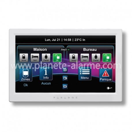Paradox TM70 - Grand clavier tactile filaire pour centrale alarme Paradox