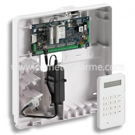Kit Honeywell centrale Galaxy Flex FX50 et clavier filaire MK8