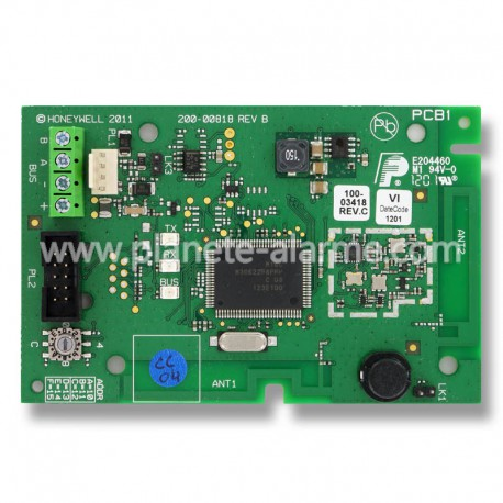 Récepteur radio intégrable Honeywell Galaxy Flex