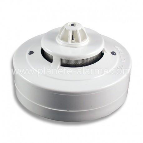Détecteur filaire de chaleur et fumée pour alarme filaire