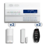 Alarme Maison sans fil Paradox MG6250 - Pack 3