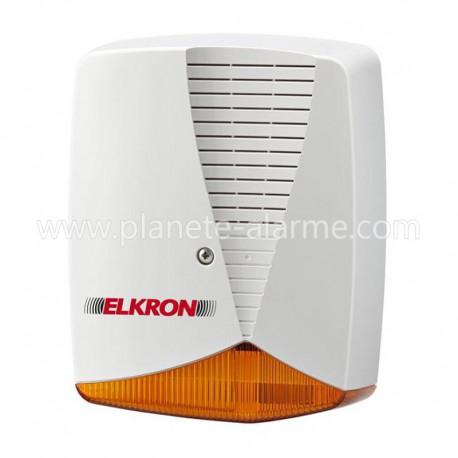 Sirène extérieure filaire Elkron HPA700P