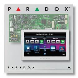 Pack alarme filaire Paradox SP avec grand clavier tactile TM70