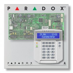 Pack alarme centrale PARADOX SP avec clavier Paradox K32LCD