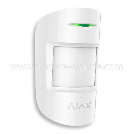Détecteur de mouvement + Détecteur bris de vitre CombiProtect Ajax