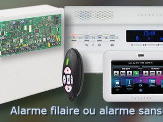 Alarme filaire ou alarme sans fil