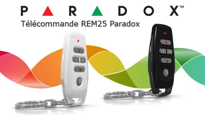 Télécommande Paradox REM25