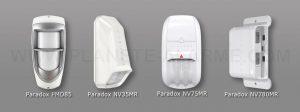 Détecteurs de mouvement sans fil extérieur pour alarme Paradox MG6250