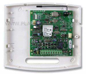 Intérieur du module d'expansion sans fil Paradox RTX3