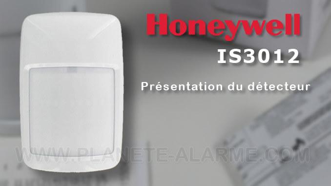 Honeywell IS3012 – Détecteur filaire infrarouge