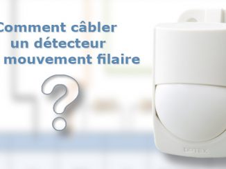 Cabler un détecteur de mouvement filaires sur une centrale alarme