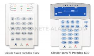 clavier Paradox K10V et K37