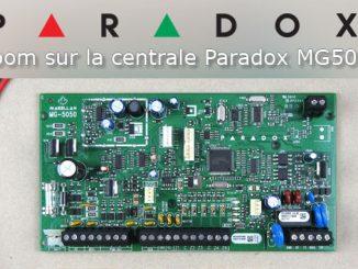 Zoom sur la centrale mixte Paradox MG5050