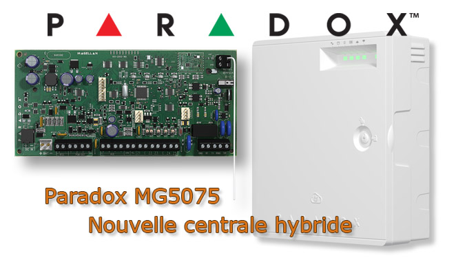 Alarme Paradox MG5075