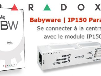 Se connecter à une centrale filaire Paradox avec un PC grâce au module IP150 Paradox