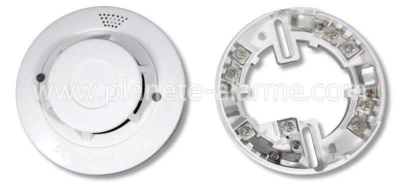 Socle du détecteur de fumée filaire NB326